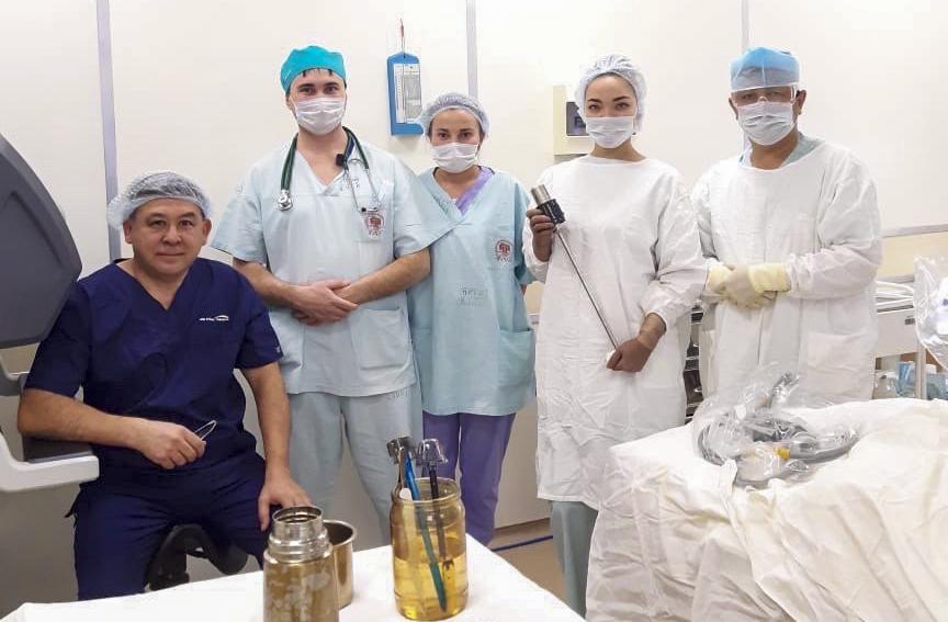 Бгму операция роботом