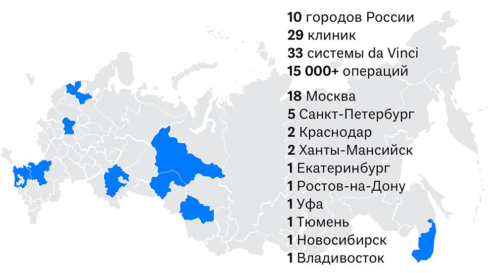 где есть да винчи в россии