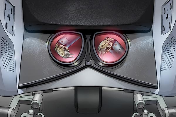 визуализация хирургического робота да Винчи