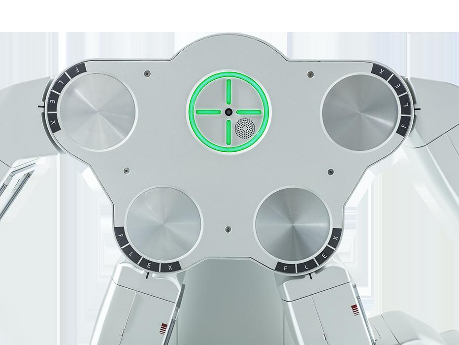 система лазерных датчиков робот да винчи