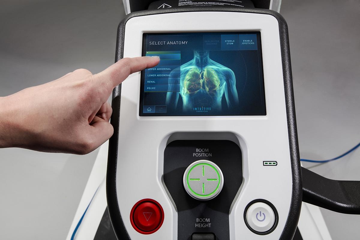 сенсорная панель хирургический робот da vinci