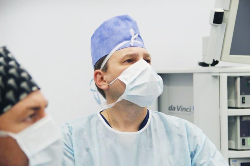 Робот-ассистированная простатэктомия на da Vinci в ГКБ 31