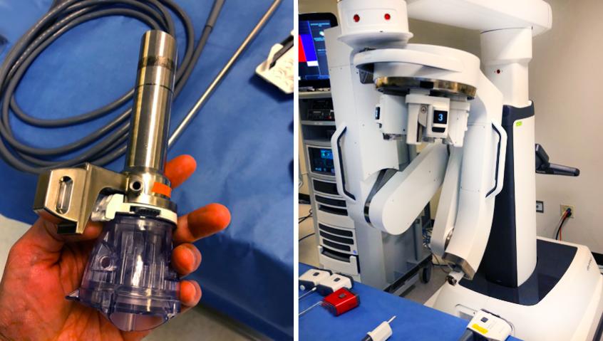 Операции на роботе da Vinci SP