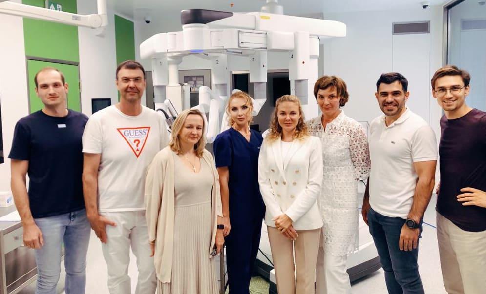 """курс """"Роботическая хирургия в гинекологии"""""""